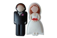 small moq romantic regalo de bodas usb pen drive