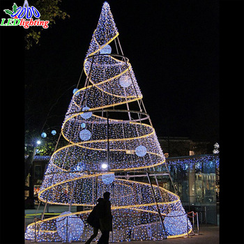 Large Outdoor Christmas Whole Artificial Tree