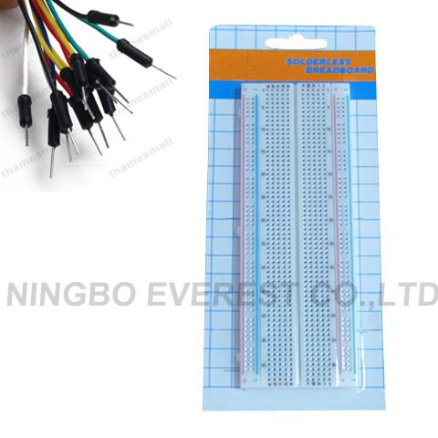 830 tie points Prototyping Electronic Breadboardand Solderless Protoboard
