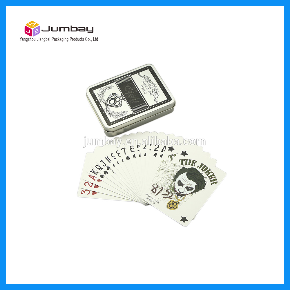 double printing plastic playing card