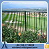 Direct Factory plastic picket fence outdoor/cheap wrought iron fence/removable fence (Gold Supplier)