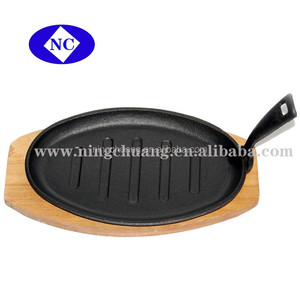 cast iron skillet plate,cast iron sizzler plate,cast iron steak plates
