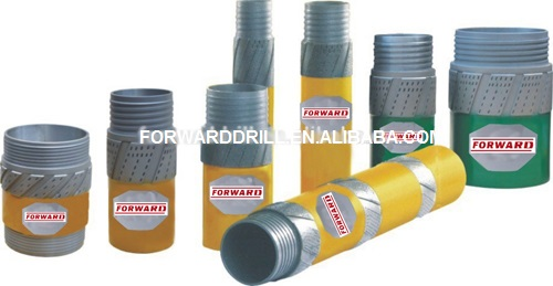 Core Drilling Tools / Diamond Reaming Shells , Surface Set And Impregnated