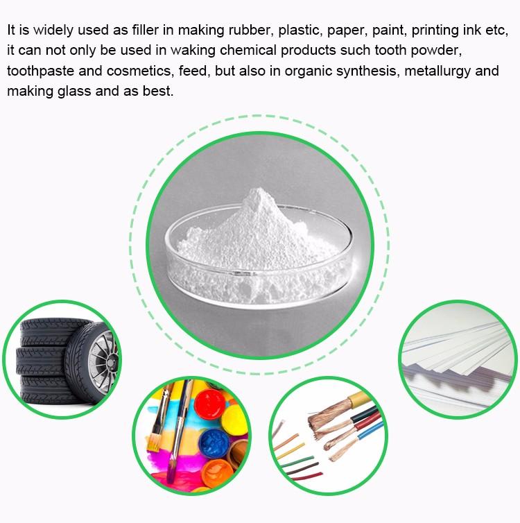 Dilapisi Bubuk Endapan Kalsium Karbonat untuk Tinta Mills