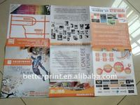paper brochure /picture book/ city map offset printing service