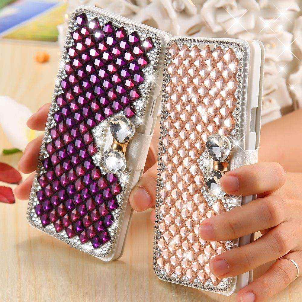 Girls Party Wallet Case For Samsung Galaxy A7 A7000 Magnetic Flip Leather  A7 Cover Bag Card Cash Slots Stand Function cfec3435dc