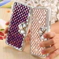Girls Party Wallet Case For Samsung Galaxy A7 A7000 Magnetic Flip Leather A7 Cover Bag Card Cash Slots Stand Function