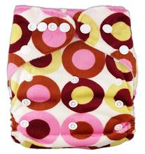 Impressões Fralda de Pano ALL IN ONE TAMANHO Promocional 1 pcs Lavável Reutilizáveis Bebê Fraldas Tampa Ajustável Para O Bebê