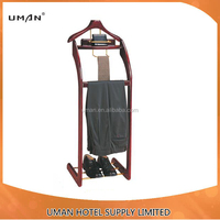 Solid wood clothes rack /coat stand for hotel deluxe suites