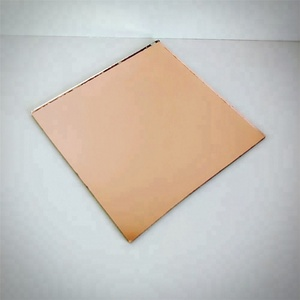 Home bathroom wall decoration 4mm pink mirror sheet price