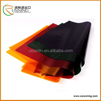 Colored Plastic Gift Wrap Cellophane Sheet - Buy Colored Cellophane ...