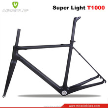 Super light cheap price carbon road bike with high quality carbon road bike frame Toray T1000 road bikes