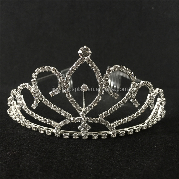 Elegant Wedding Bridal Crown Headband Tiara Charming Rhinestone Headpiece