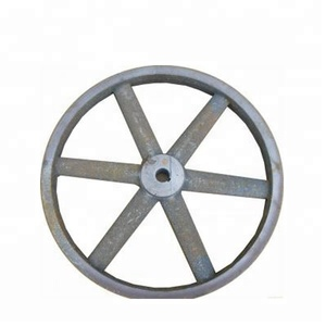 Convenient and durable sand casting cast iron flywheel