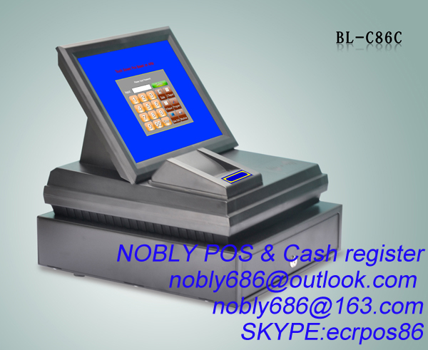 touch screen pos terminal and ECR combination