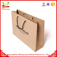 Factory Manufacture Reusable Unique Door Gift Paper Bag