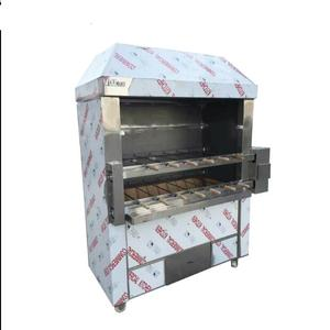 Meat /corn rotary roaster machine with best price brazilian churrascos machine