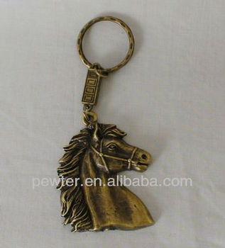 Crafts Metal Horse Head Keychain - Buy Horse Head Key Chain 49643916bd9b