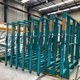 Automatic, manual storage rack system to stock glass crates