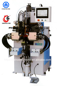 LM-658 high quality computerized automatic side & heel lasting machine shoe making machine