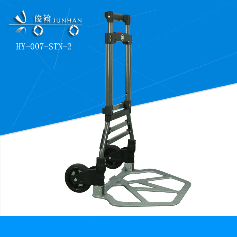 Two-wheel 90 Kgs load capacity foldable hand trolley folding luggage cart