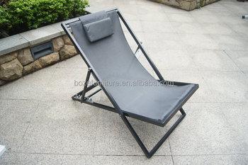 Ligstoel Tuin Aluminium : Aluminium frame opvouwbare lounge stoel outdoor textileen tuin