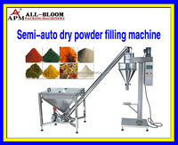 Semi-auto flour/milk powder/protein powder dry powder measuring and filling machine