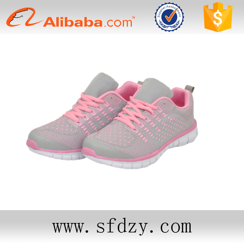 Cheap price and good quality custom sport running shoes for women