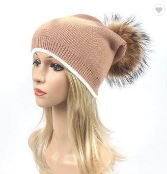 80b7fdf7c78 wholesale child winter pom pom hat custom hand made kids knitted pom beanie  hat with top