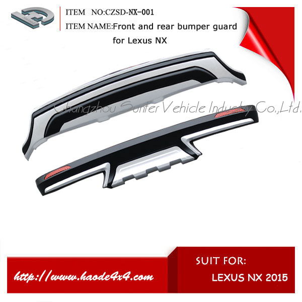 High quality bumper guard for Lexus NX 200