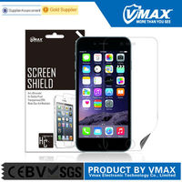 Top Brand Japanese PET Cell phone screen protector for iphone6 plus