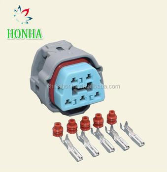 Sumitomo 2.2mm 5 Pin Accord Oil Fuel Pump Automotive Plug Auto Wiring on