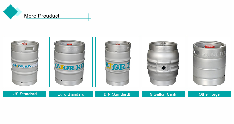 AISI 304 stainless steel DIN standard 20l beer keg wholesale