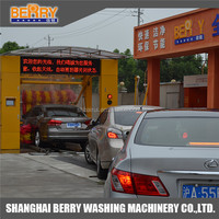 best price automatic tunnel car wash service station equipment for car wash