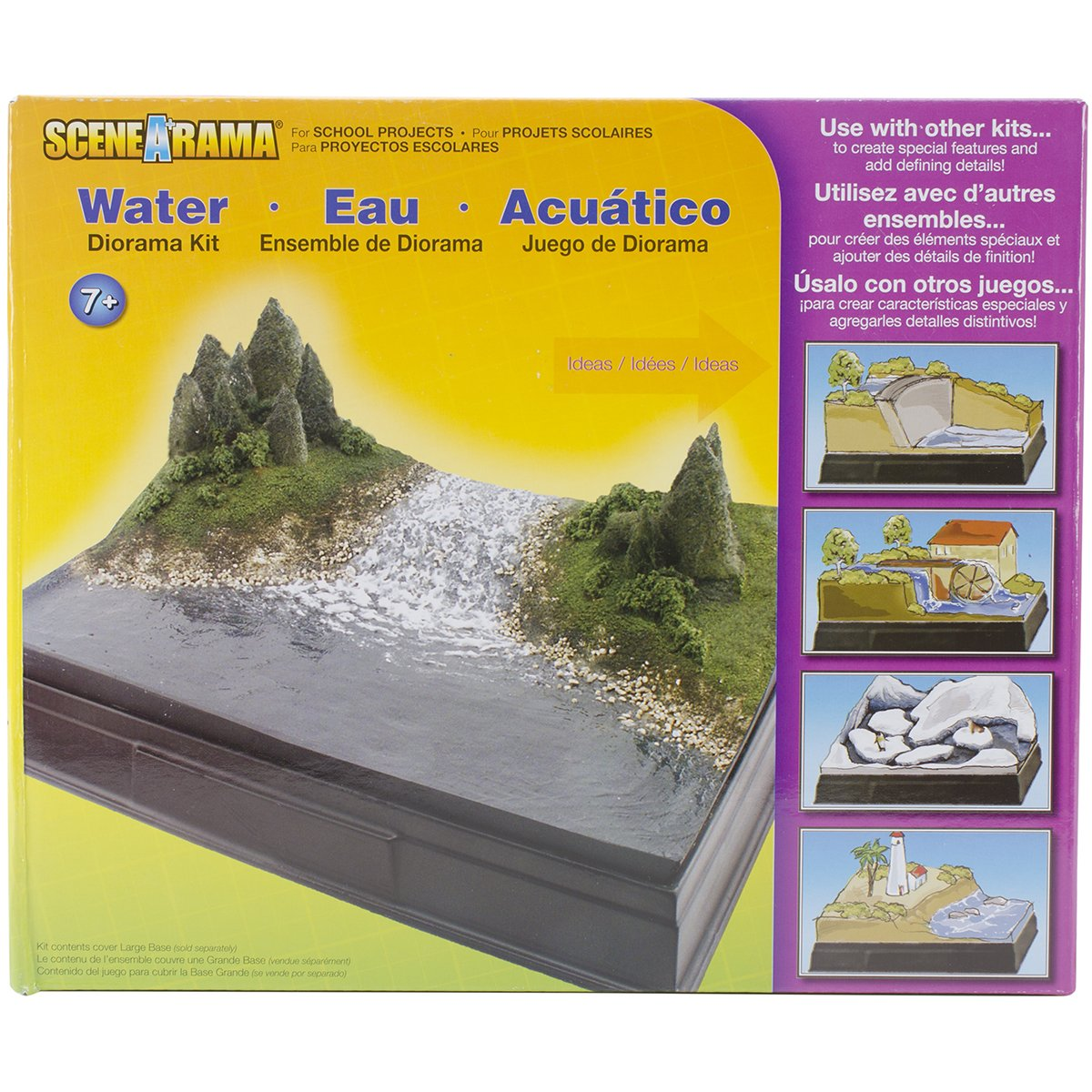 Woodland Scenics SP4113 Scene-A-Rama Water Diorama Kit, Multicolor