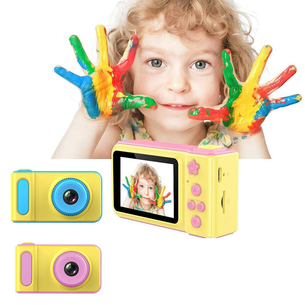 Fancytech K7 Kids Mini Digital <strong>Camera</strong> Creative DIY Dual Selfie <strong>Camera</strong> for Kids Gifts