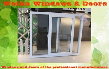 plastic sliding window and door aluminium sliding window