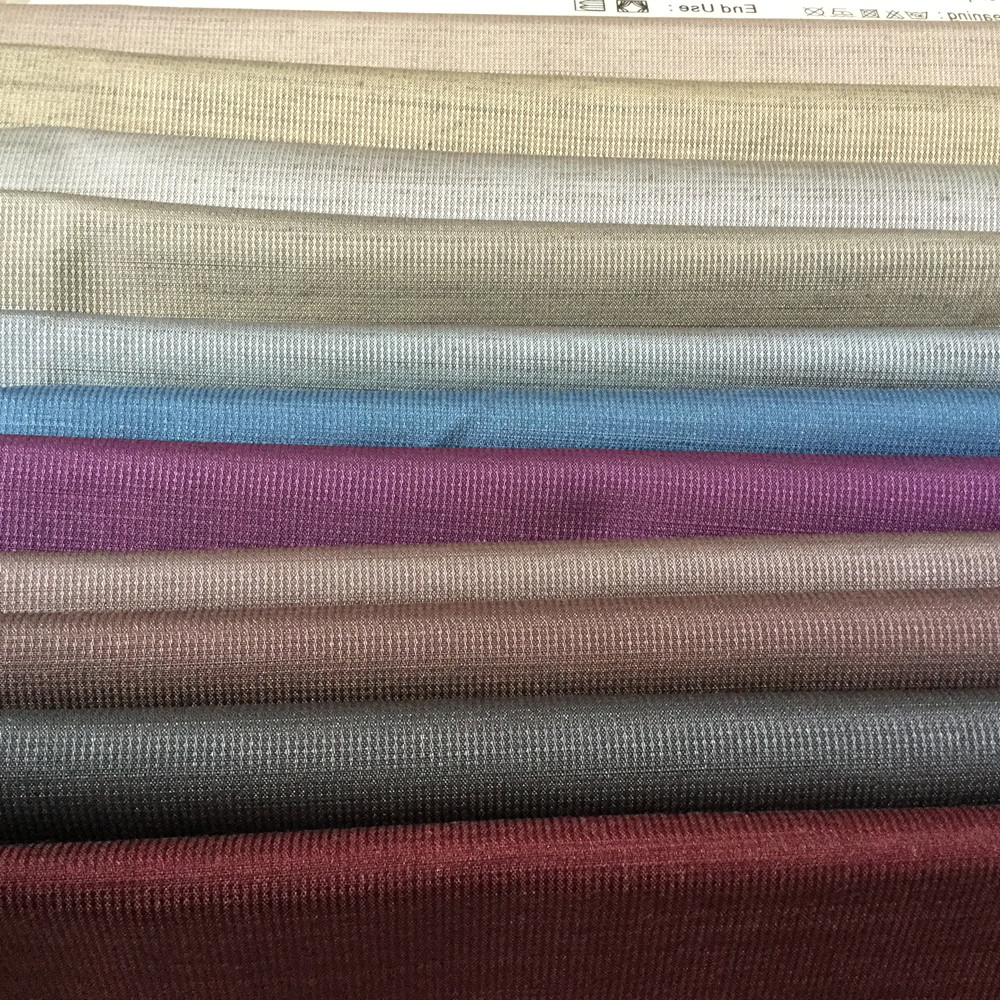 3 pass High quality 100% polyester plain solid color blackout curtain fabric