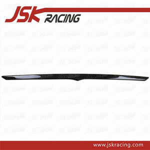 DRY CARBON FIBER REAR TRUNK KITS SPOILER LIP FOR 2009-2015 MASERATI GRANURISMO GT GC GTS