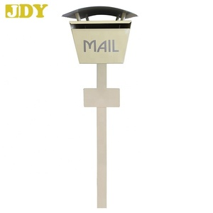 Metal Draw Name Plate Free Standing Mailboxes Small Letter Boxes for sale