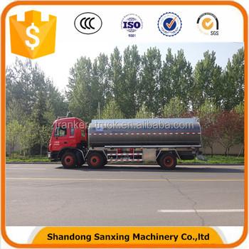30cbm Stainless Steel Milk Tank Truck All New Bulk Milk Collection ...