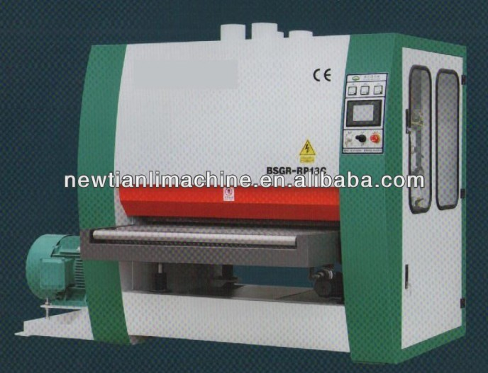 Single side 2 Heads Wide belt Sander/Plywood machine