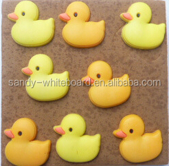 Lanxi xindi Yellow duck cork board dedicated pins