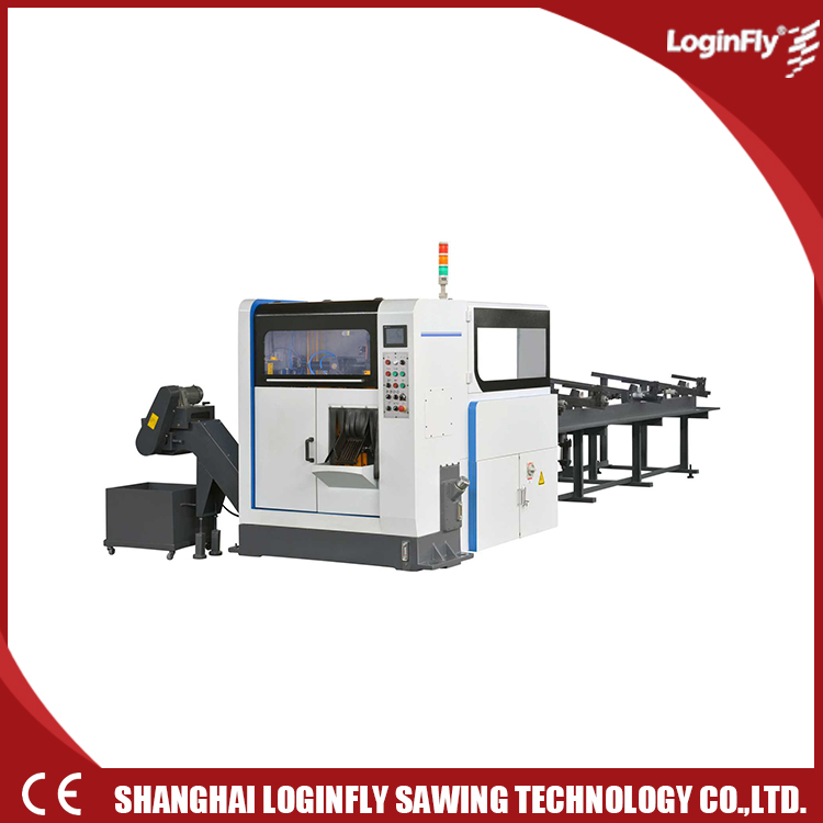 NC Circular Band Saw Machine Feeding Way for cutting Metal
