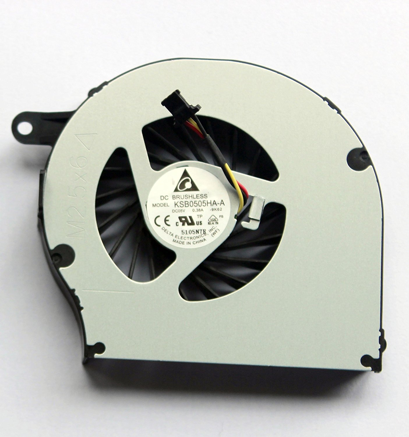 CPU Cooling Fan for HP Presario 500 510 520 530 C700 A900 Series New Notebook Replacement Accessories DC5V 0.5A P//N KSB0505HA 438528-001 AT010000200 DFS551305MC0T -6F51