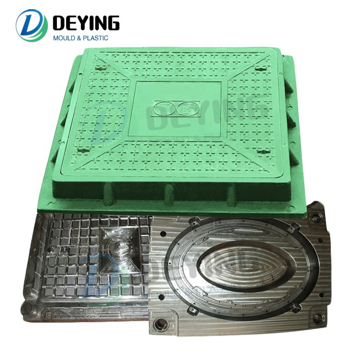 high quality smc bmc FRP GRP compression manhole cover mold for sale