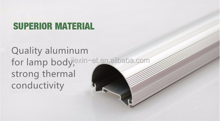 100lm/w Lighting 1.2 Meters 4ft 18w Single Pin T8 Led Tube