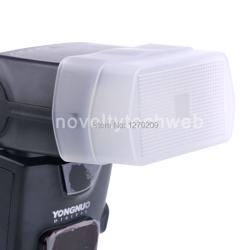 uxcell Soft Box Flash Diffuser White Bounce Softbox Cover for Canon 430EX