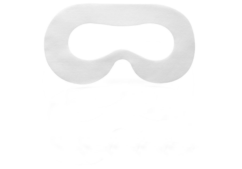 Yaphetss Disposable Oculus Rift CV1 VR Mask Hygiene White Replaceable Blinder Replacement Accessories for Oculus Rift Virtual Reality Headset 100 Pcs