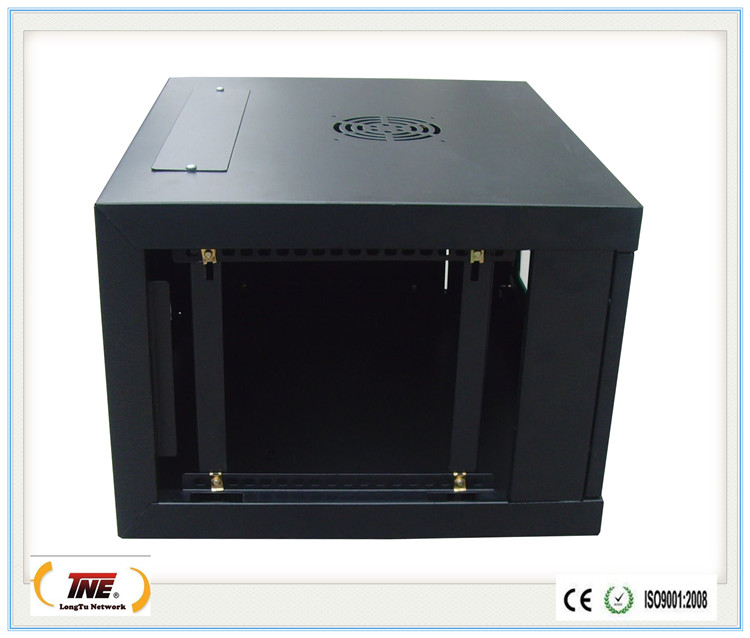 4u Exquisite 19 inch network server enclosure wall mounted cabinet with lock